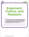 Argument, Claims, and Reasons 1