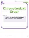 Chronological Order 1
