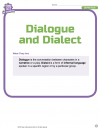 Dialogue and Dialect 1
