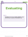 Evaluating 1