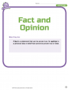 Fact and Opinion 1