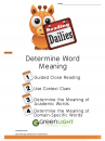 Unit 4.13: Determine Word Meaning