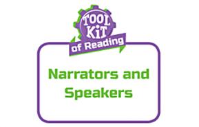 Narrators and Speakers