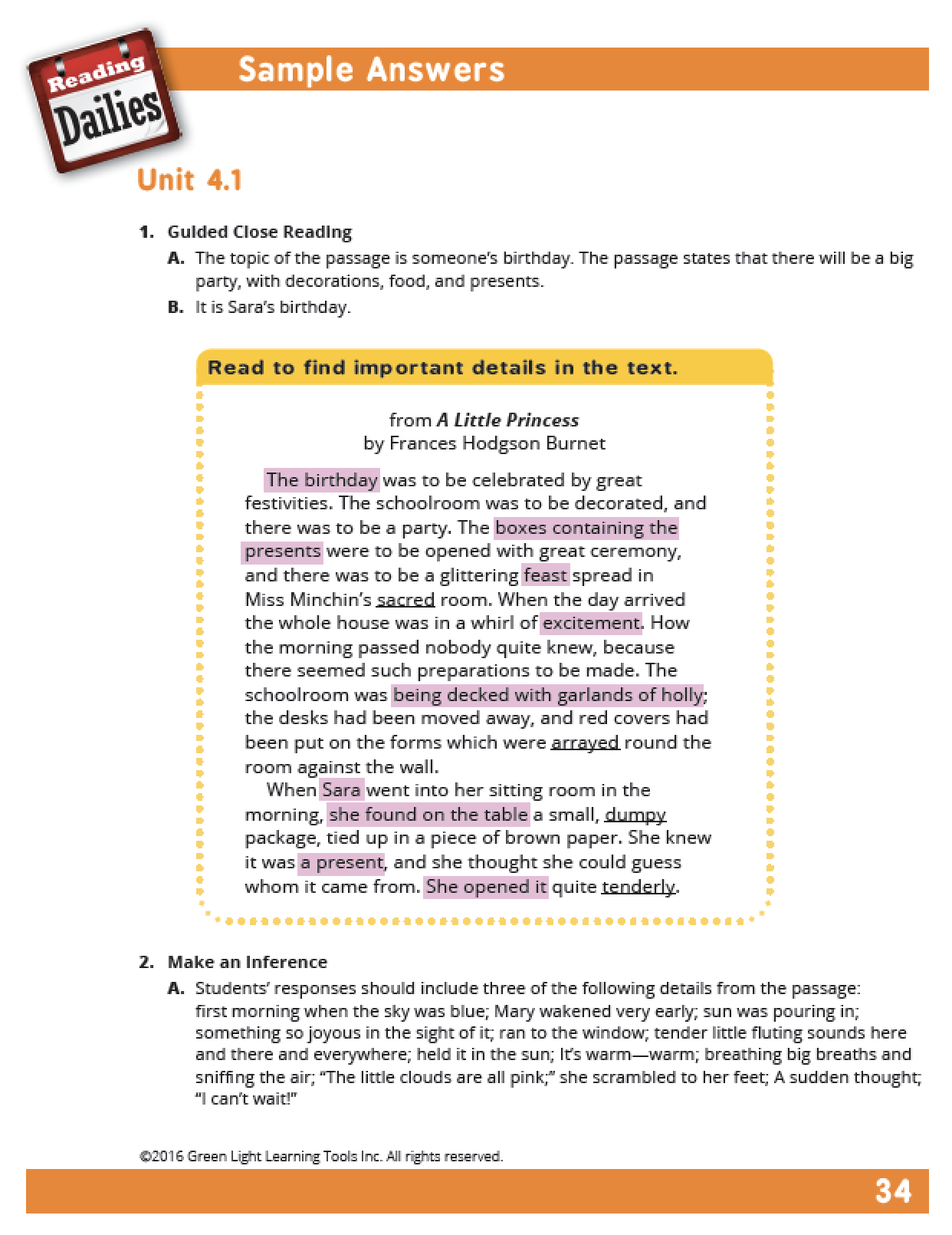 Worksheet Grade 4 Reading reading dailies grade 4 teachers guide store edition edition