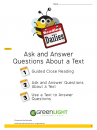 3.1:Ask and Answer Questions About a Text