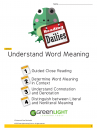 3.4:	Understand Word Meaning