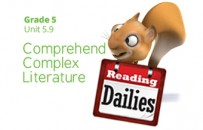 Unit 5.9: Comprehend Complex Literature