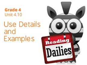 Unit 4.10: Use Details and Examples