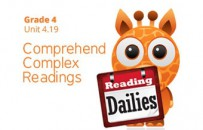 Unit 4.19: Comprehend Complex Readings