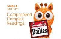 Unit 4.19: Comprehend Complex Readings