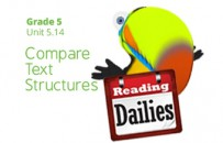 Unit 5.14: Compare Text Structures