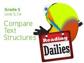 Unit 5.14: Compare Text Structures