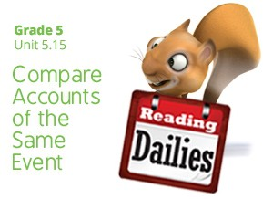 Unit 5.15: Compare Accounts of the Same Event
