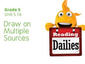 Unit 5.16: Draw on Multiple Sources