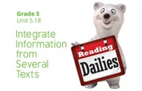 Unit 5.18:  Integrate Information from Several Texts