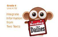Unit 4.18: Integrate Information from Two Texts