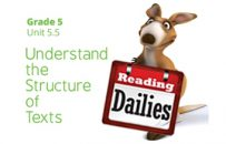 Unit 5.5: Understand the Structure of Texts