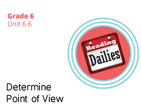 Unit 6.6 Determine Point of View