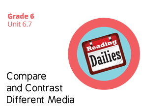 Unit 6.7 Compare and Contrast Different Media